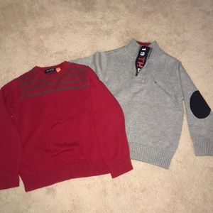 Lot of 2 Tommy Hilfiger, Children's Place Sweaters